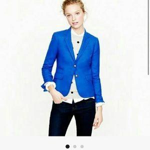 J. Crew schoolboy blazer royal blue